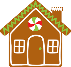 gingerbread house clipart. Contemporary House Christmas House Clipart At GetDrawingscom  Free For Personal Use   Transparent Throughout Gingerbread C