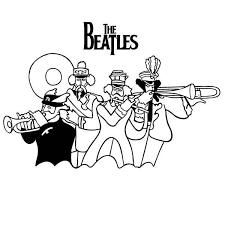 Afbeeldingsresultaat Voor Beatles Drawings Music