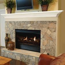how to install mantel on uneven stone cast shelf fireplace wood