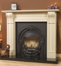 metal fireplace surround ideas