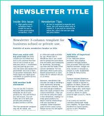 Free Downloadable Newsletter Template 64 Download Free Newsletter Templates For Word All Templates