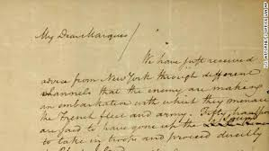 After More Than 70 Years A Stolen Alexander Hamilton Letter
