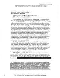 dod doj cia nsa odni inspectors general report on the president s  doj presidentssurveillanceprogram page 001 doj presidentssurveillanceprogram page 014