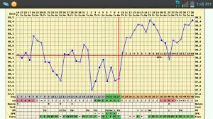 Merging Two Charts Shows Possible Implantation Dip Bfp