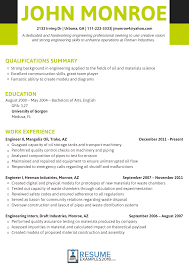 Best Engineering Resume Examples 2018 That Land You A Job