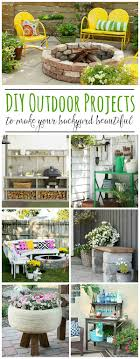 Diy Outdoor Projects Best Backyard Diy Projects Clean And Scentsible