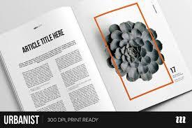 Blank Magazine Article Template 29 Indesign Magazine Designs Templates Psd Ai Free Premium
