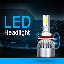 <b>Aslent</b> C6 led Car Headlight H7 LED <b>H4</b> Bulb HB2 H1 H3 H11 HB3 ...