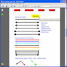 The height property is used to set the height of border (vertical line) element. How To Draw Line Or Arrow On Pdf Page