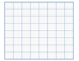 Free Printable Graph Paper Template Instant Download