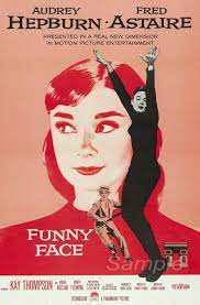 Vintage Funny Face Audrey Hepburn Movie ...