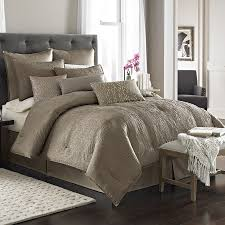 grey and taupe bedding designs