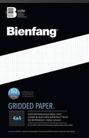 Printable Grid Paper Template Inspiration Amazon Bienfang Designer Grid Paper 48 Sheets 48Inch By 48