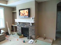 Built In Cabinets Beside Fireplace Hammers And High Heels Feature Project Holly And Brians
