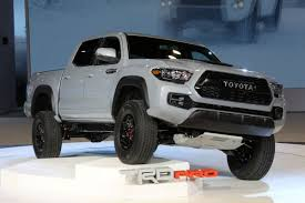 2017 Toyota Tacoma TRD gets unveiled at Chicago Auto Show