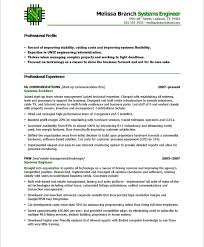 Functional Resume Format For Mechanical Engineer
