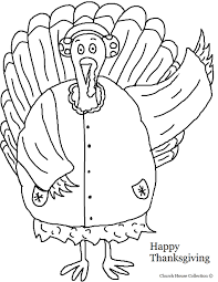 Thanksgiving Turkey In A Coat With