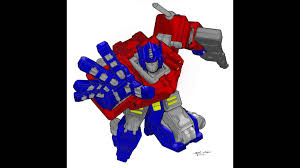 Small Picture Optimus Prime Coloring YouTube