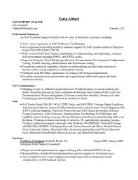 Sap Fico Sample Resumes Sap Fico Sample Resume For Experienced Rimouskois Job Resumes 7