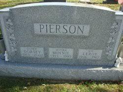 Minnie Pierson (1915-1985) - Find A Grave Memorial