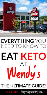 have you been wondering can i eat keto at wendy s the answer is yes find out exactly what to order from the home of the frosty with this prehensive