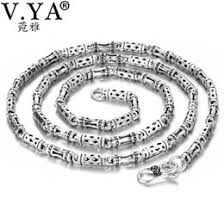 Discount 4mm Sterling Silver Men Chains