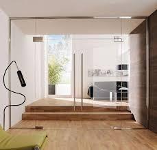 interior frameless glass door. Clear Glass Partition Wall With Frameless Double Doors Interior Door R