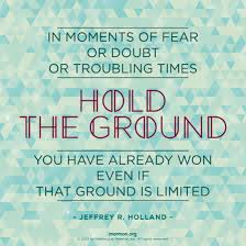 Your Amazing Quotes Inspiration Hold Your Ground