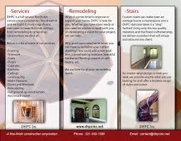 What Is A Pamphlet Sample Examples Of Business Brochures Brochures Sample Design Examples Of