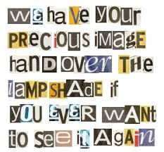 ransom letter generator cut and paste note tv tropes