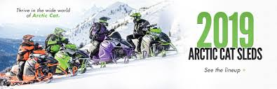 2019 arctic cat sleds here to view the models