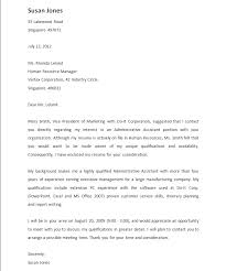Cover Letter For A Job Referral From Friend Paulkmaloney Com
