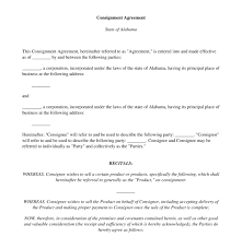 consignment form for cars consignment agreement free template word pdf