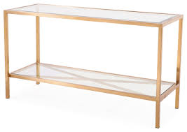gold console table. Gardner Console Table, Antique Gold Table E