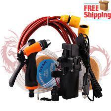 Araba yıkama 12V tabancası pompası yüksek basınçlı temizleyici bakım yıkama  makinesi elektrikli temizleme oto yıkama bakım aracı aksesuarları|Water Gun  & Snow Foam Lance