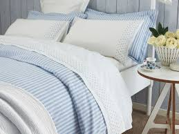 blue and white striped duvet cover sweetgalas