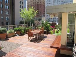 entire office decked. Rooftop Terrace Decks All Decked Out Garden Tribeca Photo Entire Office