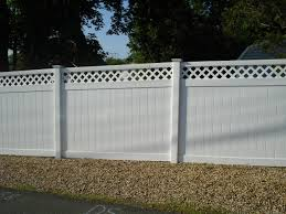 Painted Fences garden vinyl fence ideas home interior design simple fantastical 6322 by xevi.us