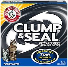 Amazon Com Arm Hammer Clump Seal Litter Fresh Home Lbs