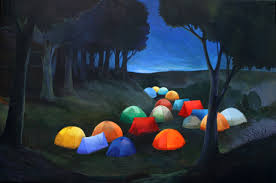 camping in the woods at night. Fine Woods Camping_60x90cm_2013   Throughout Camping In The Woods At Night