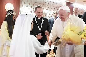 Image result for papa en abudabi en consejo de ancianos