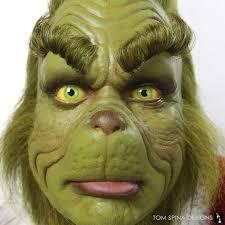 grinch makeup dr seuss christmas prop custom acrylic eyes and eyelashes