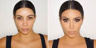 harpers bazaar msia kim kardashian makeup 3