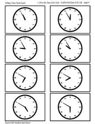 Printable Clocks Hour And Minute Teaching Resources Teachers Pay