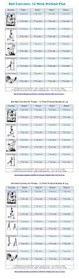 Free Gym Workout Chart Pin On Exercise