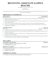 Shipping And Receiving Resume Sample Best Of Shipping Resume Sample And Receiving Warehouse Report Template