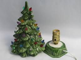 Ceramic Tabletop Christmas Tree With Lights Impressive Ceramic Table Top Christmas Tree Photo Albums Perfect Homes