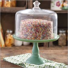 tall glass cake stand with dome 659017 the pioneer woman timeless beauty 8 25 mini cupcake stand with