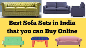 10 best sofa sets in india that you can