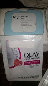 n 7 beautiful skin face wipes makeup remover for all skin types face wash skin care plus 9 olay wash cloths brand new beauty health in everett